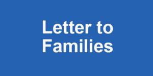 Letter to Families: Coronavirus Featured Photo