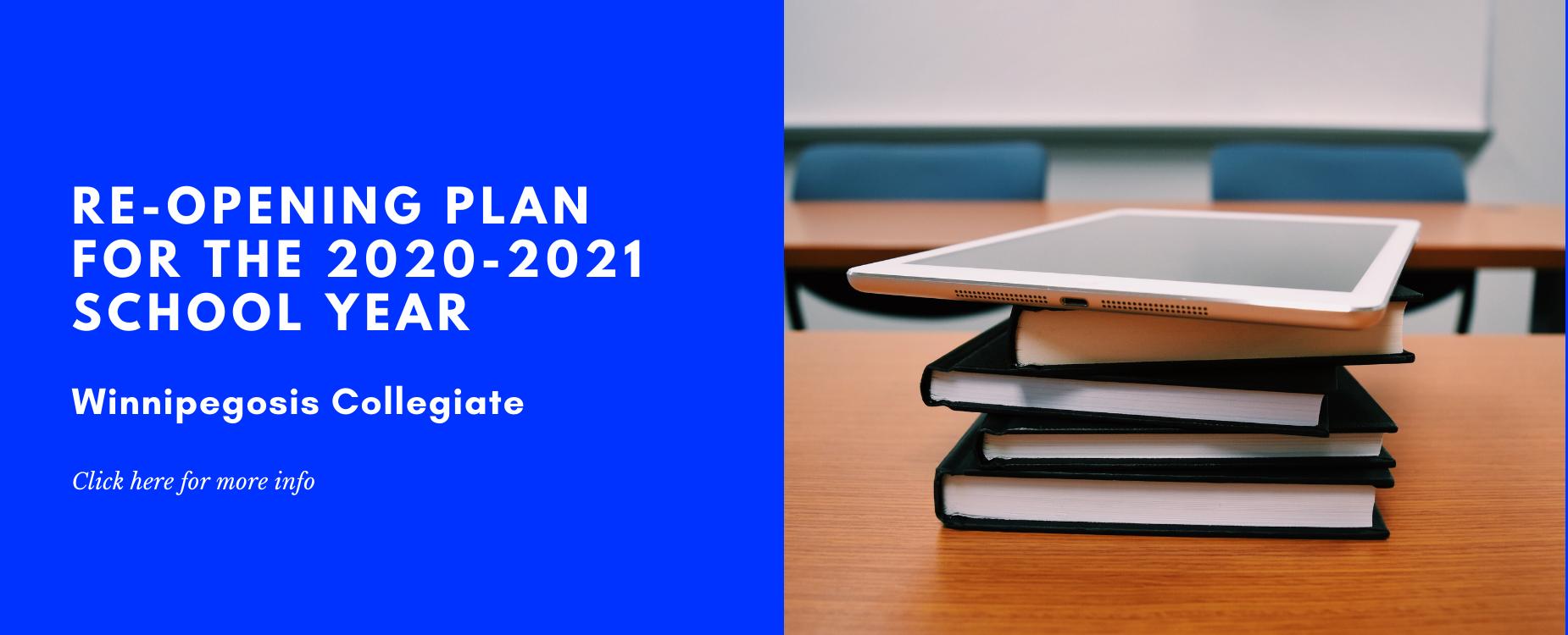 WCI School Re-Opening Plan