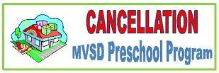 preschool cancelled