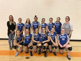 Grade 8 Girls 2nd Place