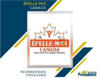 Reconnaissance à Épelle-Moi Canada Featured Photo