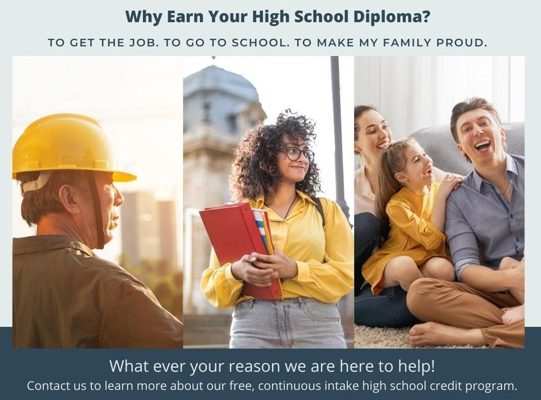 Why earn your high school diploma?