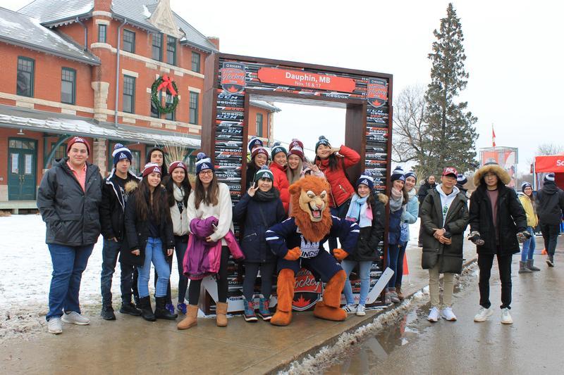 Dauphin Hosts Hometown Hockey Featured Photo