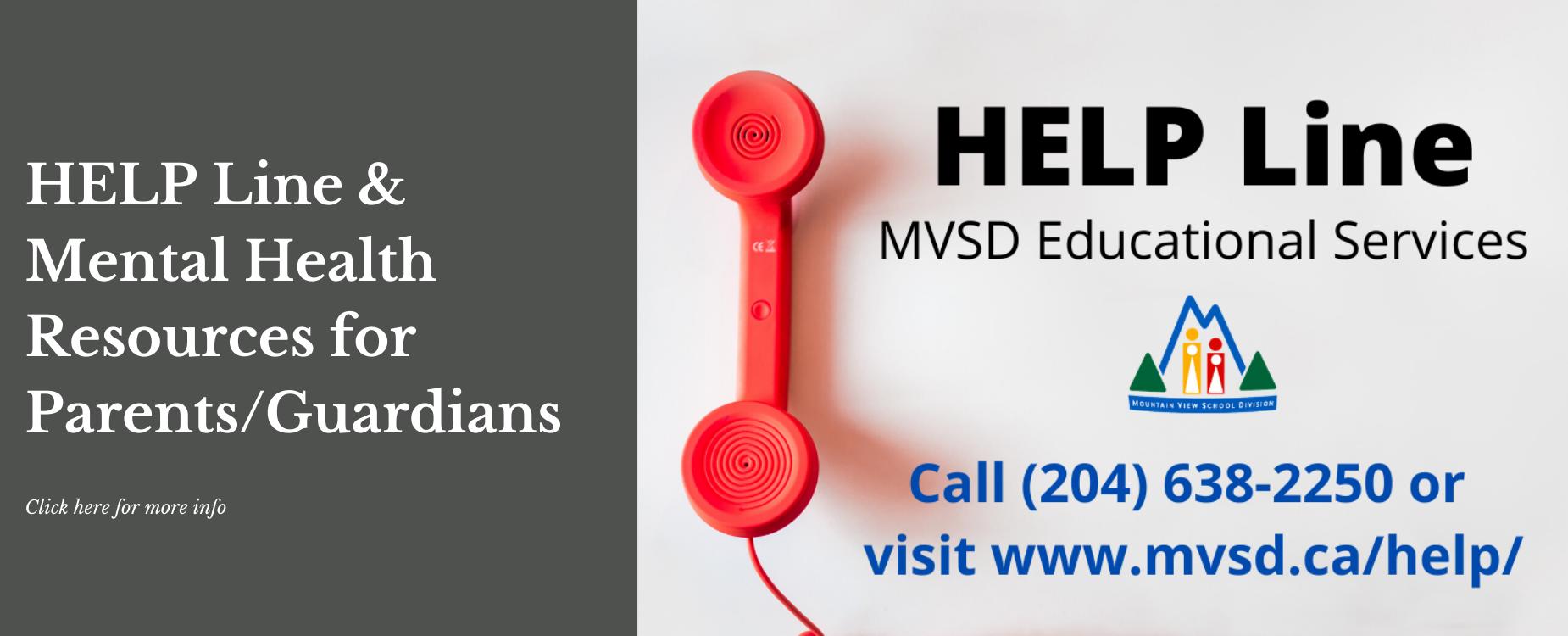 MVSD HELP Line