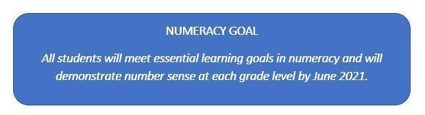 Numeracy goal