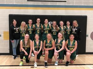 JR Girls earn SILVER at basketball zones!! Featured Photo