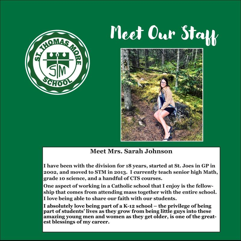 Meet Mrs. Sarah Johnson! Featured Photo