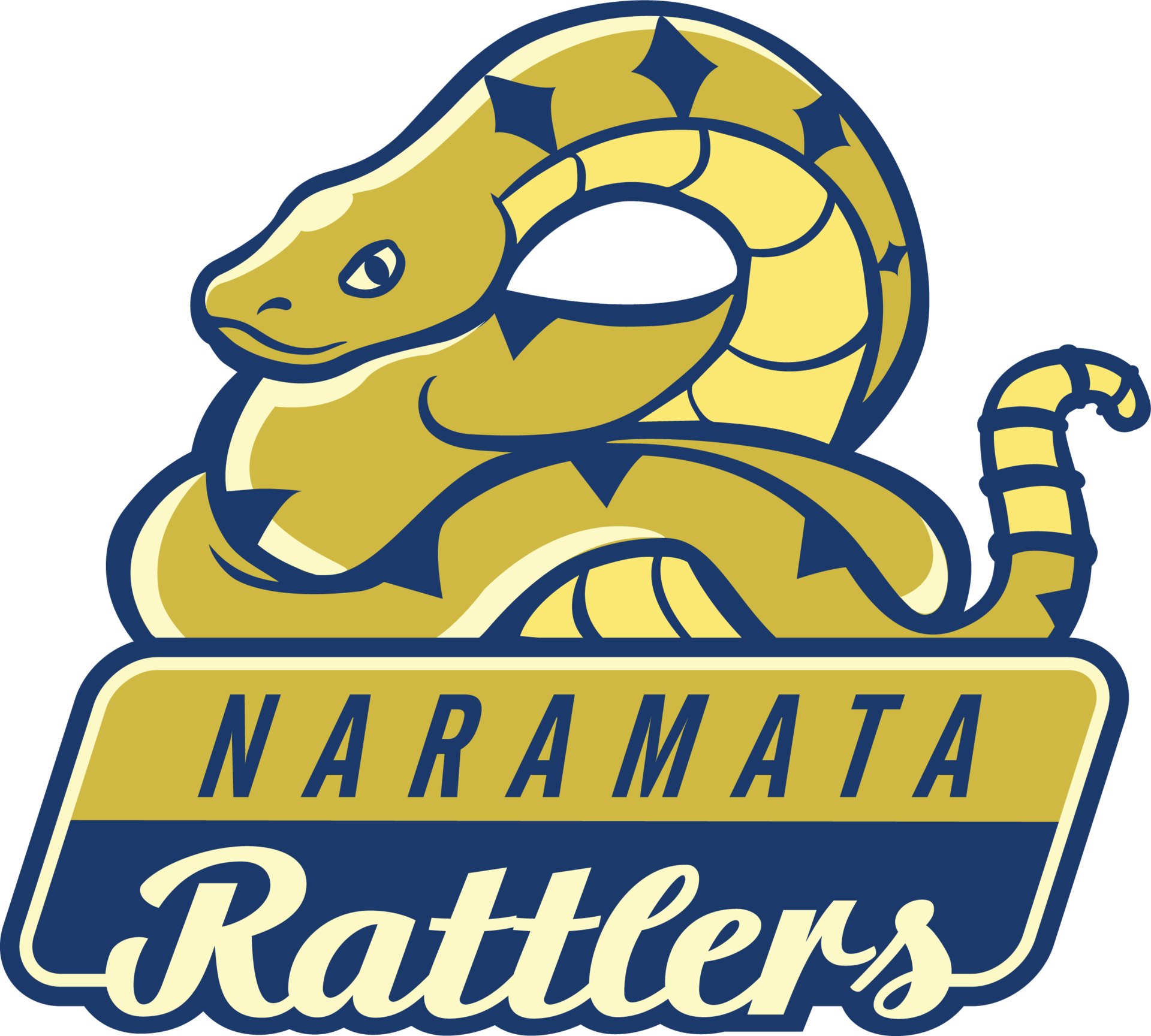Naramata rattler logo