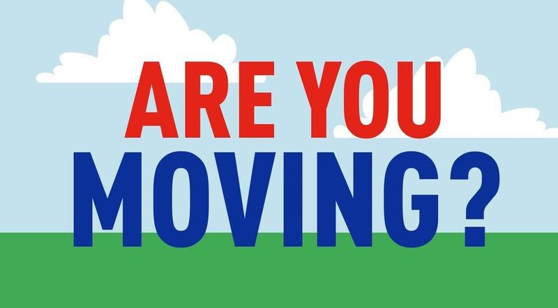 Are you Moving?  Please let the office know Featured Photo