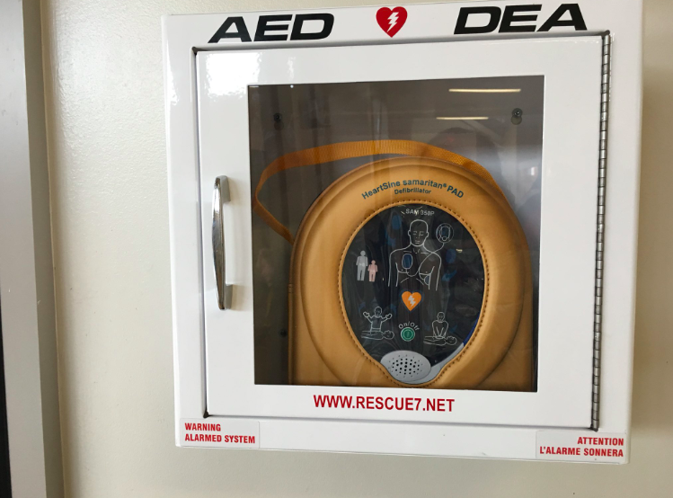 Automatic External Defibrillator (AED) at SESS Featured Photo