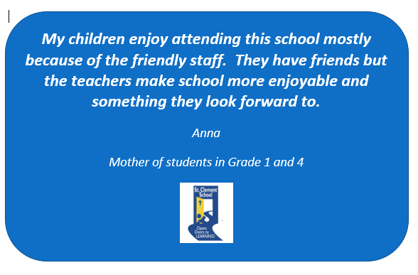 Testimonial from a happy parent Featured Photo