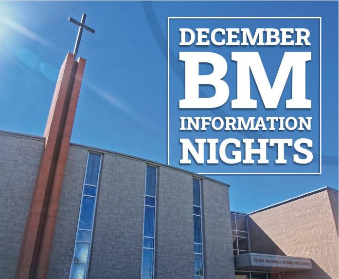 December BM Info Nights