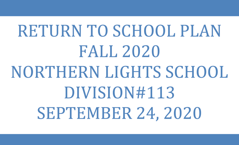 Return to School Plan - UPDATE September 24, 2020 Featured Photo