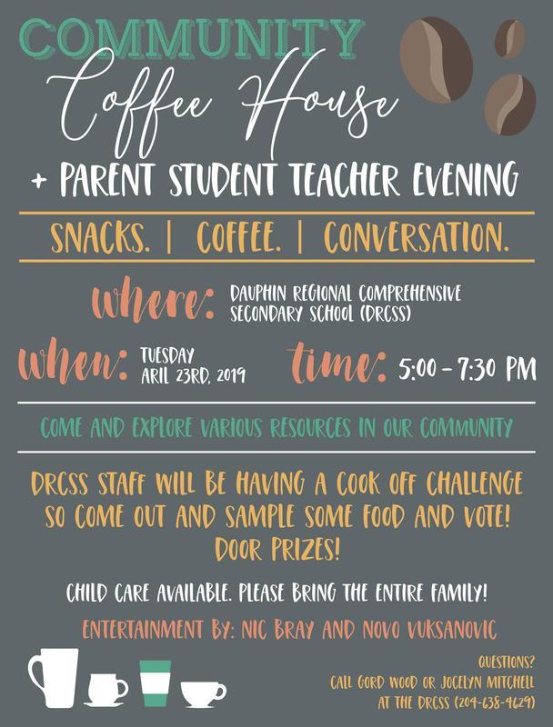 Parent- Teacher Interviews and Coffee House Evening! Featured Photo