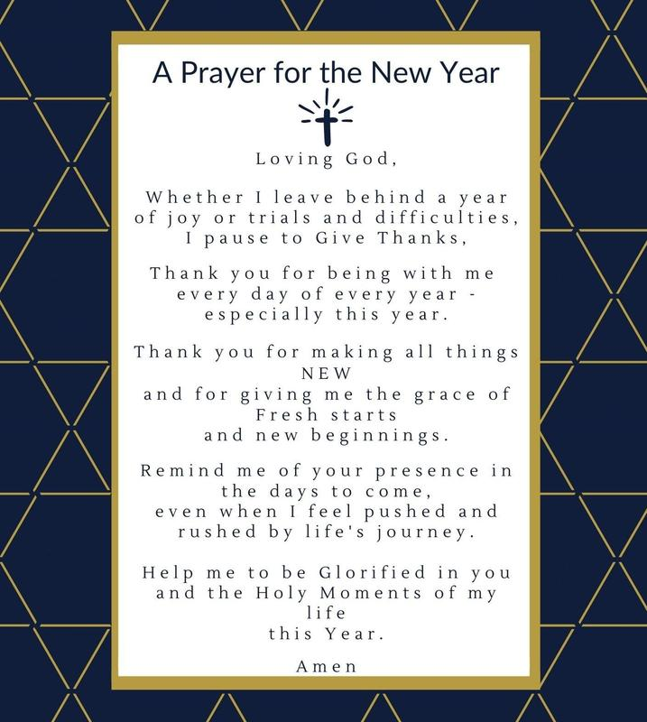 A Prayer for the New Year Featured Photo