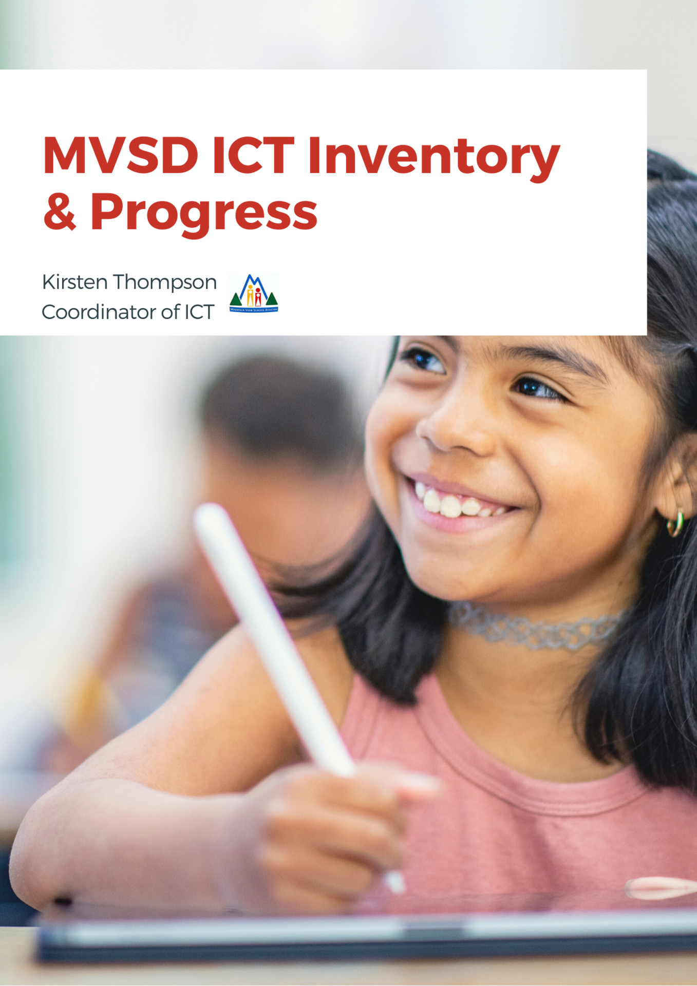 MVSD ICT Inventory & Progress Link