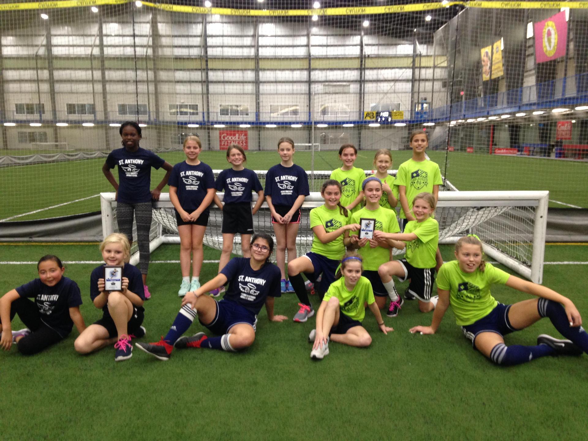 Junior Girls Finalists