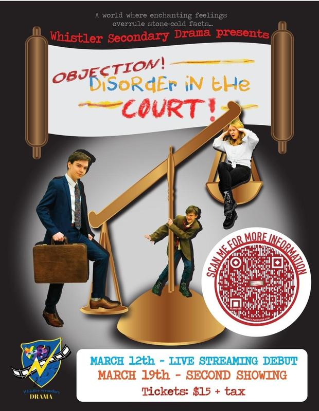 Objection! Disorder in the Court!  WSS Drama Production: Online Tickets are available for purchase! Shows on March 12th and March 19th Featured Photo