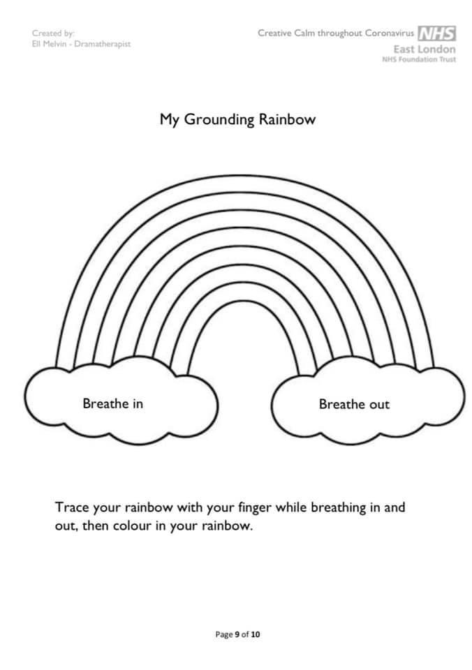 my grounding rainbow
