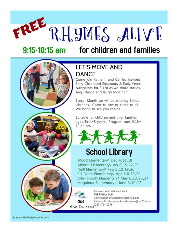 Rhymes Alive for Children and Families Featured Photo