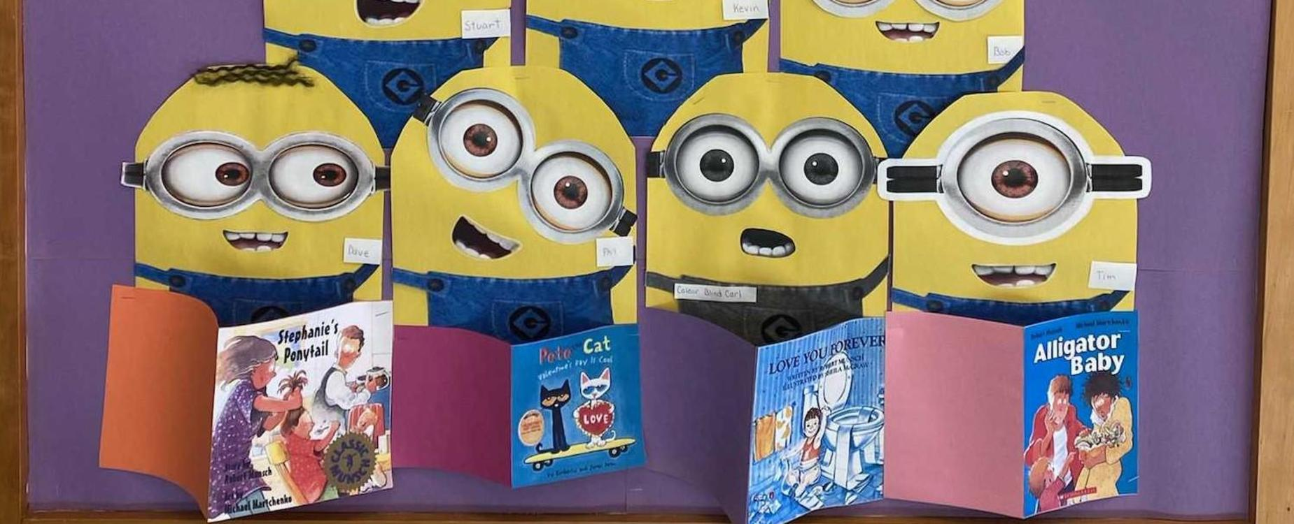 There's a minion reasons to read!