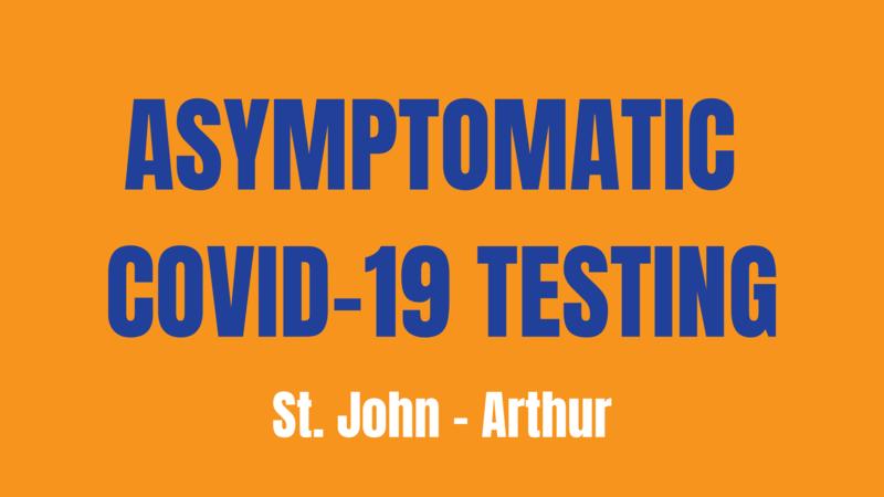 Asymptomatic COVID-19 Testing