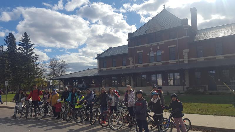 international students participate in Dauphin Yard Fringe