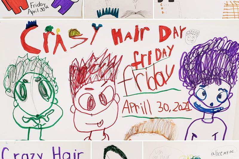 SPIRIT DAY - Crazy Hair Day Featured Photo