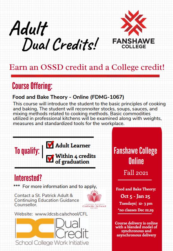 Adult Dual Credit Brochure