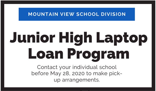 MVSD Laptop Loan Program - middle years