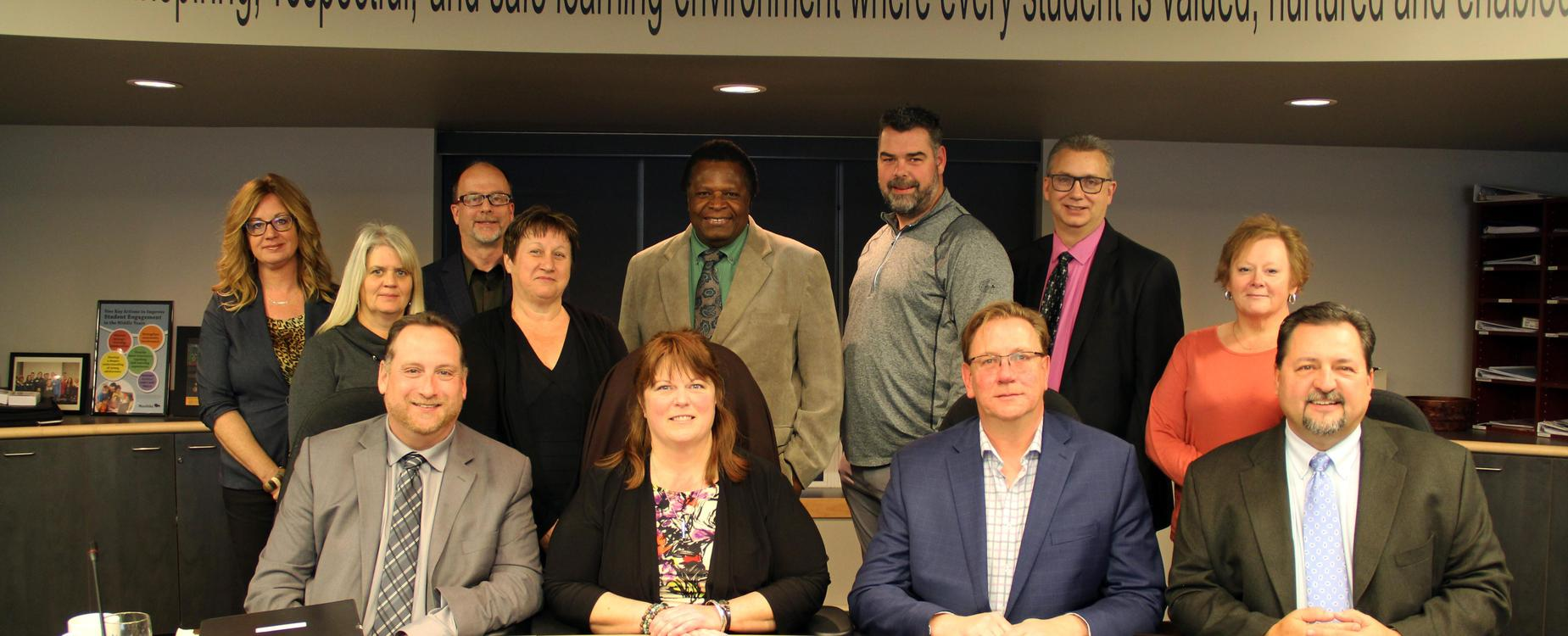MVSD Board of Trustees and Senior Administration 2019-2020