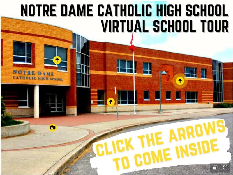 NEW! Notre Dame Virtual School Tour Featured Photo