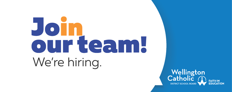 Join our team website banner