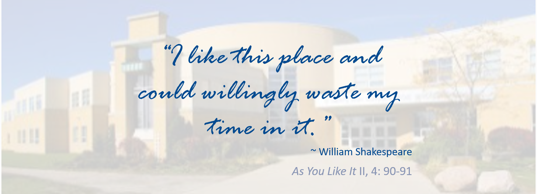 """I like this place and could willingly waste my time in it."""""""