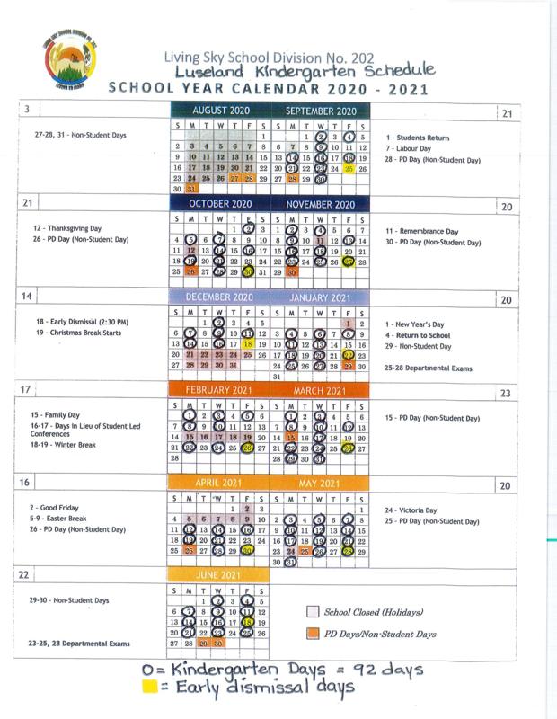 Kindergarten Class Schedule Featured Photo