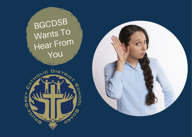 BGCDSB Wants To Hear From You Featured Photo