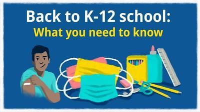 Back to K-12 school:  what you need to know Featured Photo