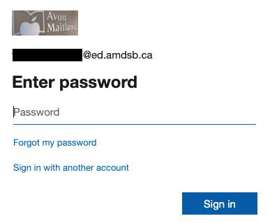MS Office password screen