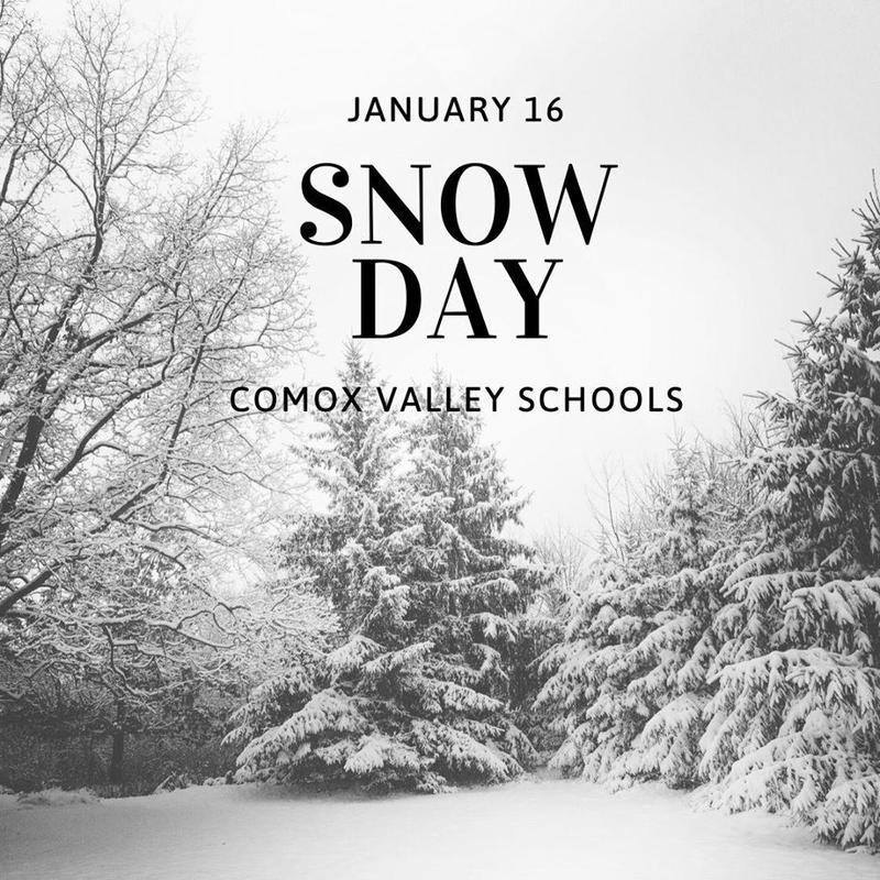 Snow Day January 16, 2020 Featured Photo