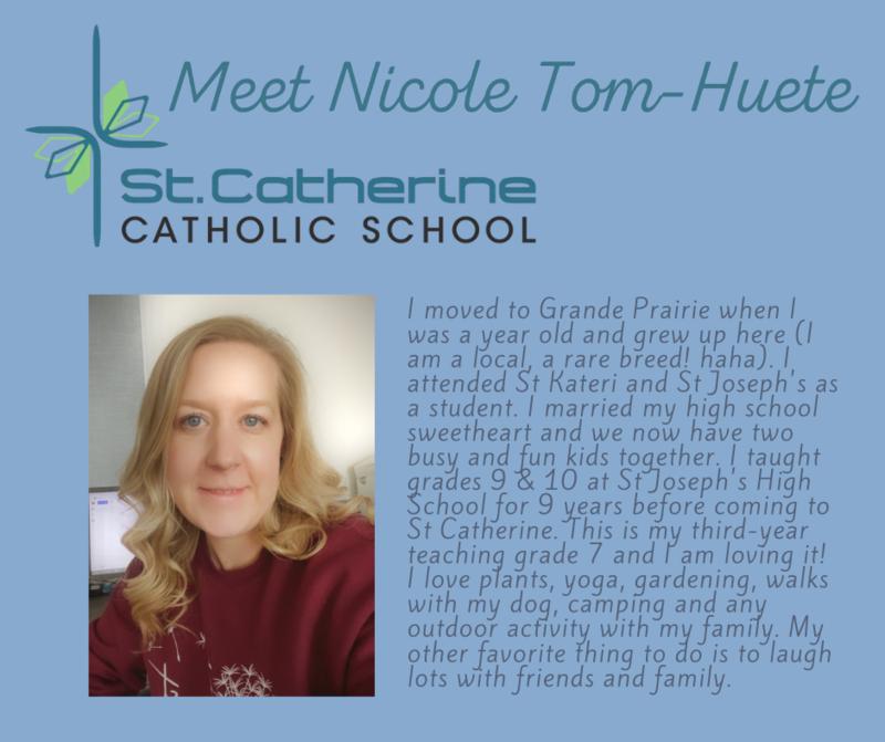 St. Catherine: Nicole Tom-Huete Featured Photo