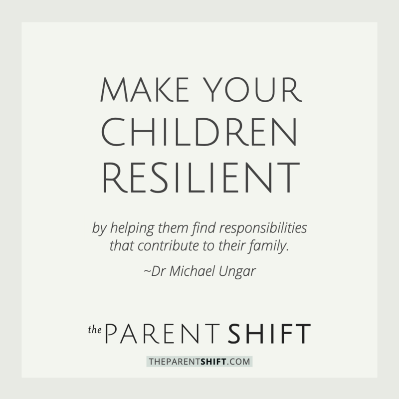 making children resilient