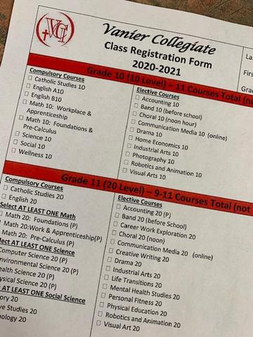 2020-21 Vanier Registration Featured Photo