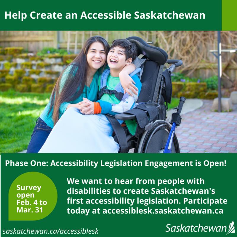 Help Create an Accessible Saskatchewan Featured Photo