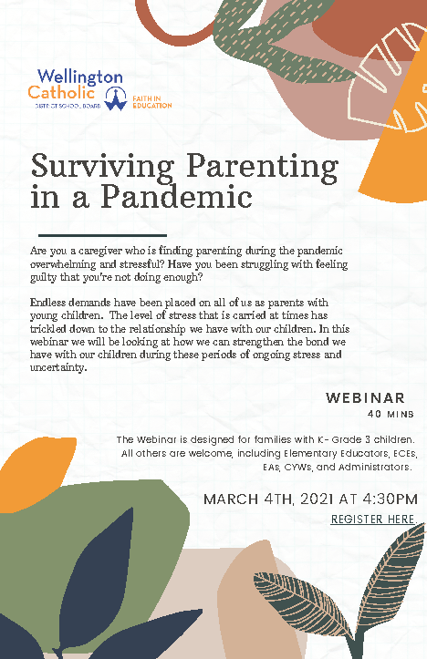 Surviving Parenting in a Pandemic