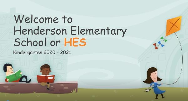 Welcome to Kindergarten at Henderson Elementary School
