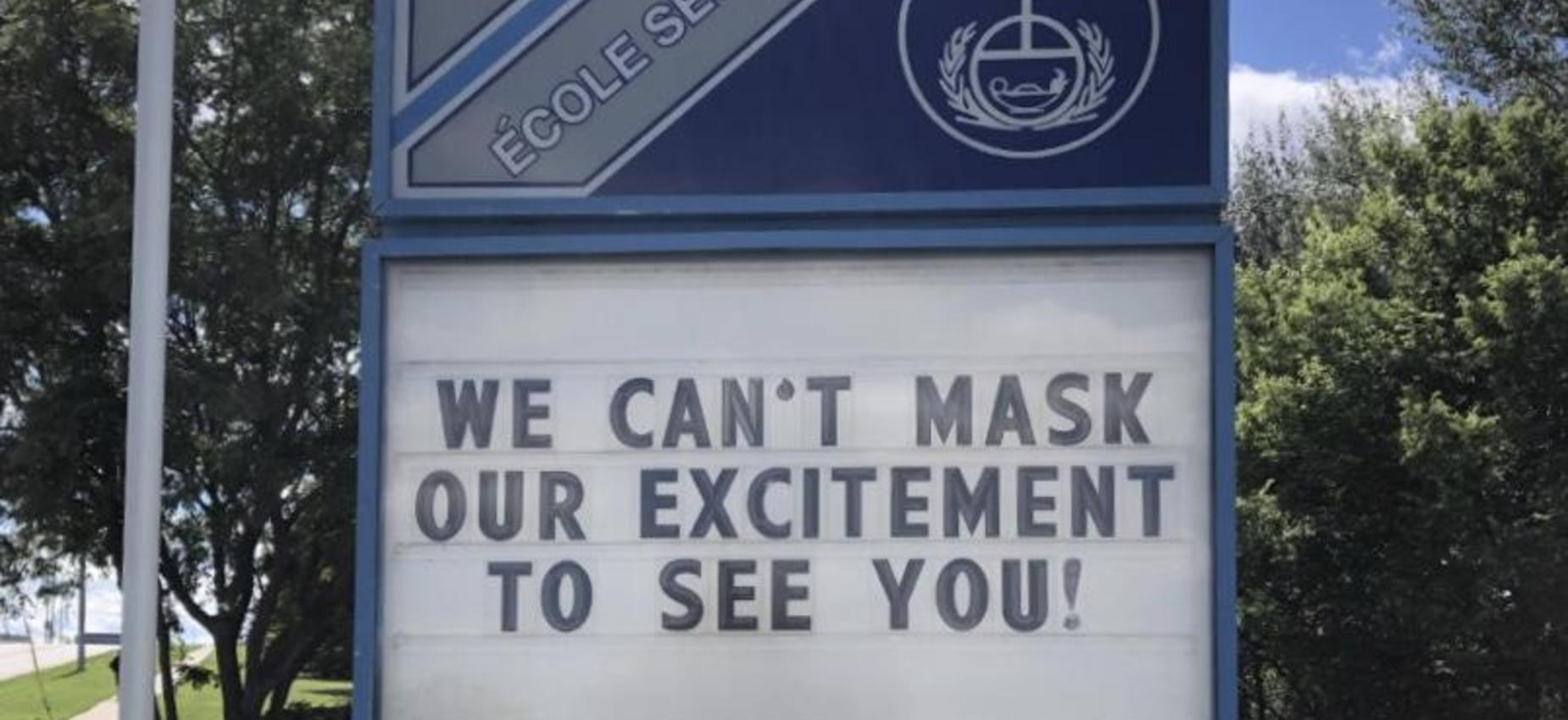 SMHS can't mask our excitement to see you!