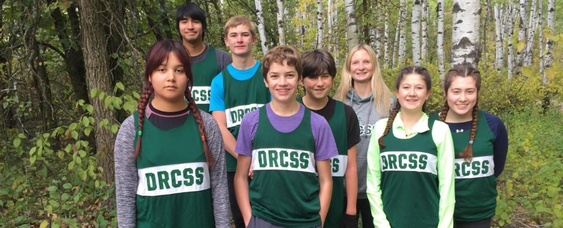 cross country running team