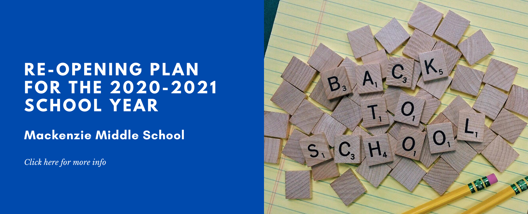 Mackenzie Reopening Plan