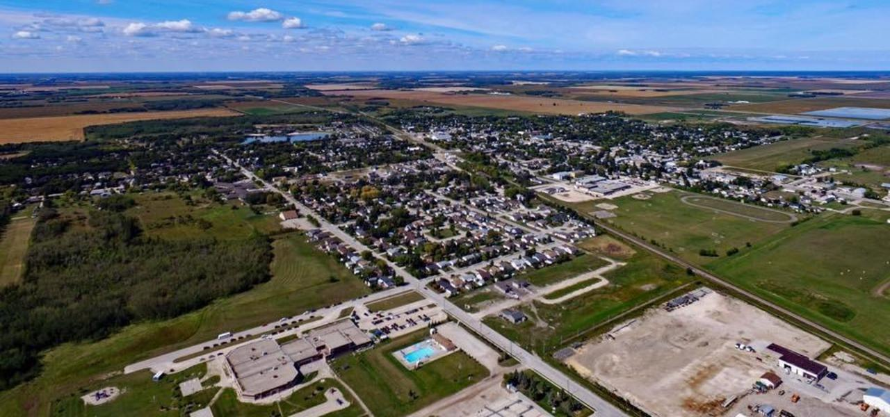 Aerial view of Beausejour