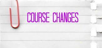 course change